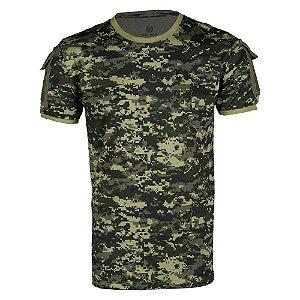 Camiseta T Shirt Tática Ranger Masculina Pântano Bélica