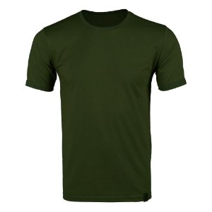 Camiseta Masculina Soldier Verde Bélica