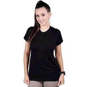 Camiseta Feminina Bélica Soldier Preta Manga Curta