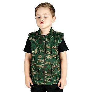 Colete Infantil Army Digital Marpat Treme Terra