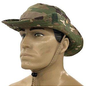 Chapéu Tático Boonie Hat Multicam Bélica