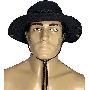 Chapéu Tático Boonie Hat Preto Bélica