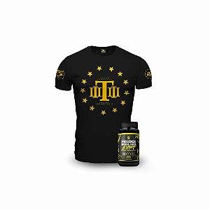 Kit Liberty Alpha Premium Tático - 1 Camiseta Militar + BCAA