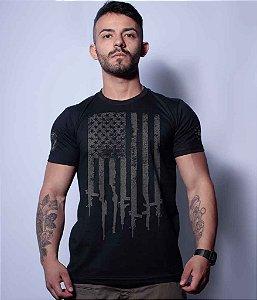 Camiseta Squad T6 Magnata EUA Flag Arms