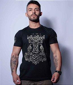 Camiseta Squad T6 Magnata Se You In Valhalla