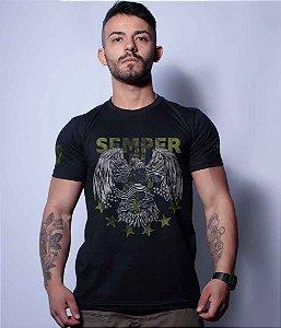 Camiseta Squad T6 Magnata Semper Fidelis