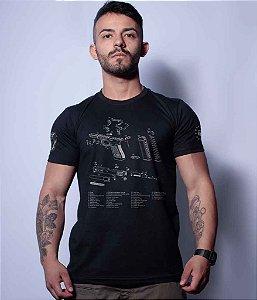 Camiseta Squad T6 Magnata Glock Parts