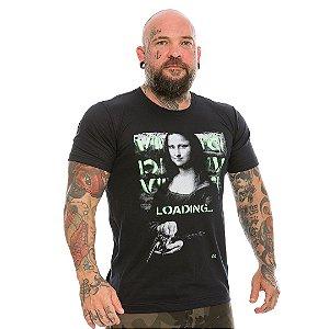 Camiseta Militar Casual Vidi Vici Loading Monalisa