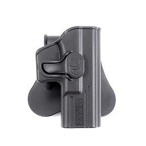 Coldre Destro Tarântula OWB Plataforma Glock Compact Invictus
