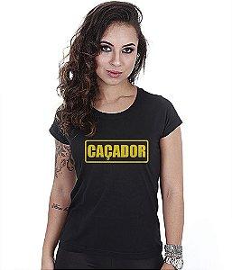 Camiseta Militar Baby Look Feminina CAC Caçador Team Six