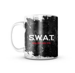 Caneca Swat Even Cops Dial 911