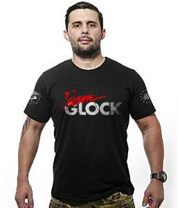 Camiseta Team Glock EUA