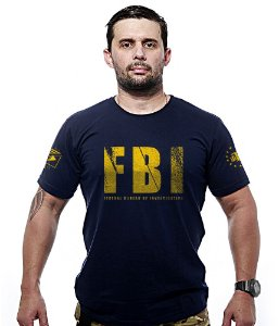 Camiseta FBI Federal Bureal Of Investigation