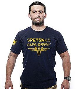 Camiseta Spetsnaz Força Especial Russa Alfa Group