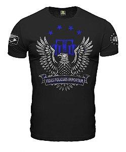 Camiseta Militar Vidas Policiais Importam Team Six