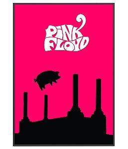 Poster Minimalista Pink Floyd