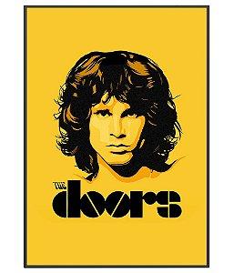 Poster Minimalista Da Banda The Doors