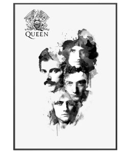 Poster Banda de Rock Queen