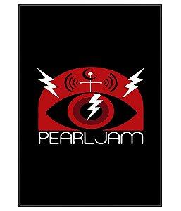 Poster banda de rock Pearl Jam