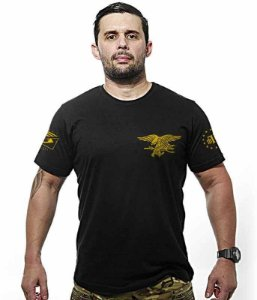 Camiseta Militar Masculina Original Navy Seals