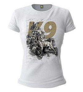 Camiseta Baby Look Feminina Squad T6 Instrutor Fritz K9 Concept