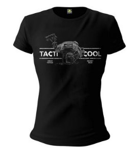 Camiseta Baby Look Feminina Squad T6 Instrutor Fritz Urban Vintage Tacti Cool
