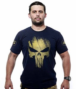 Camiseta Punisher Original Gold Line