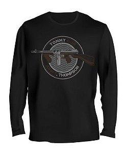 Camiseta Manga Longa Tactical Fritz Tommy Gun John T. Thompson