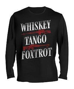 Camiseta Manga Longa Tactical Fritz Whiskey Tango and Foxtrot