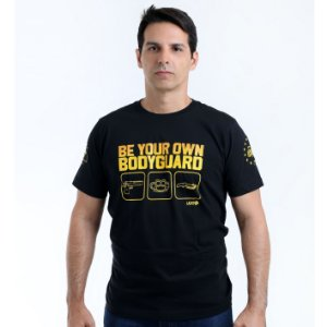 Camiseta militar Lador Be Your Own Bodyguard Team Six