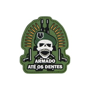 Patch Caveira Invictus BR FORCE