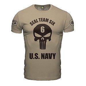 Camiseta Punisher Seal Team Six Navy Seal