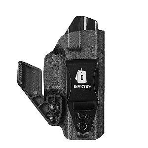 Coldre Kydex IWB 2.0 Destro Glock Compact Invictus