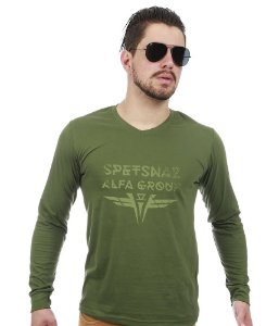 Camiseta Manga Longa  Spetsnaz Alfa Group