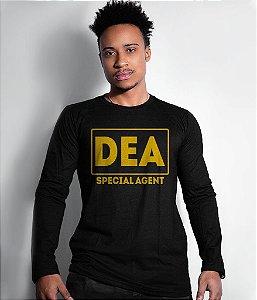 Camiseta Manga Longa DEA Special Agent