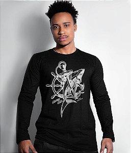 Camiseta Grumec Manga Longa