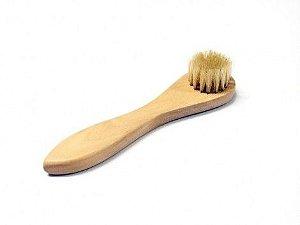 Escova Facial com cerdas naturais - Orgânicas