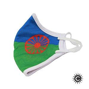 Máscara de Proteção - Bandeira Cigana
