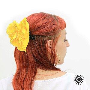 Rosa para Cabelo - Amarela - Pomba-Gira, Cigana ou Malandra