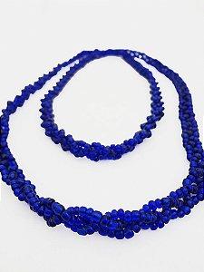 Brajá - 3 Fios - Opaco - Azul Escuro