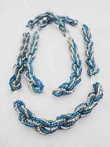 Brajá - Azul e Transparente 7 Fios