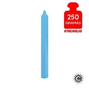 Vela - Palito - 250G - Azul Clara