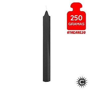 Vela - Palito - 250G - Preta