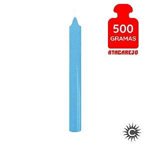 Vela - Palito - 500G - Azul Clara