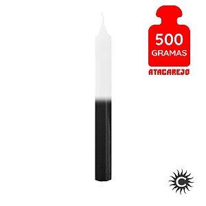 Vela - Palito - 500G - Branca e Preta