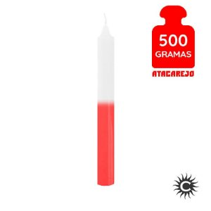 Vela - Palito - 500G - Branca e Vermelha