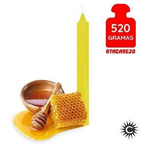 Vela - Palito - 520G - Especial - Mel - Amarela