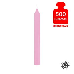 Vela - Palito - 500G - Rosa