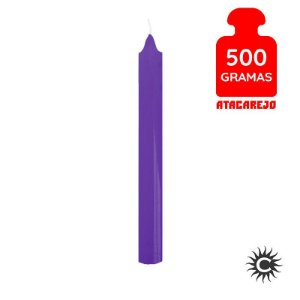 Vela - Palito - 500G - Roxa