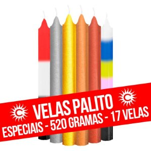 Vela - Palito - 520G - Especial - Cores